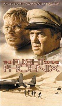 poster Film - Pasarea Phoenix - The Flight of the Phoenix (1965)