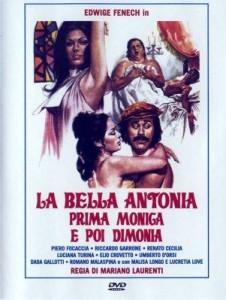 poster Film - Calugarita nerusinata - La Bella Antonia Prima Monica E Poi Dimonia (1972)