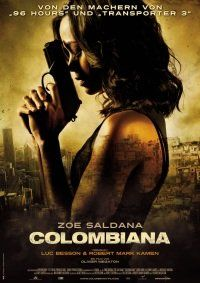 poster Film - Columbiana - Colombiana (2011)