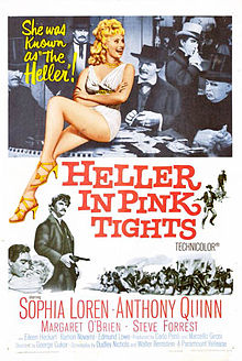 poster Film - Reprezentatie indecenta - Heller in Pink Tights (1960)