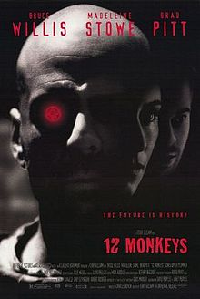 poster Film - Armata celor 12 maimute - 12 monkeys (1995)