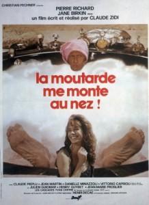 poster Film - Imi sare tandara - La Moutarde Me Monte Au Nez (1974)