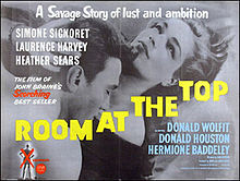 poster Film - Drumul spre inalta societate - Room at the Top (1959)