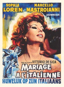 poster Casatorie in stil italian - Matrimonio all'italiana (1964)