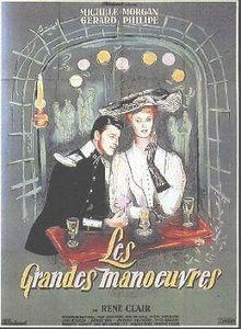poster Film - Marile manevre - Les Grandes manoeuvres (1955)