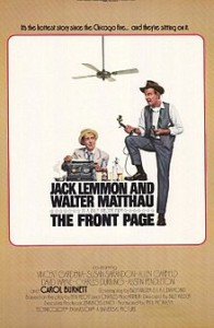 poster Film - Prima pagina - The Front Page (1974)