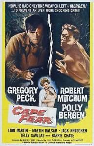 poster Film - Promontoriul groazei - Cape Fear (1962)