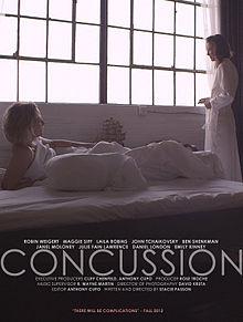 poster Film - Socul - Concussion (2013)