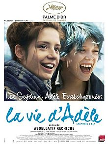 poster Film - La vie d'Adèle - Blue is the warmest colour (2013) - subtitrat