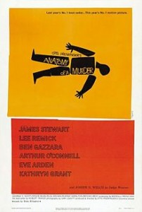poster Film - Anatomia unei crime - Anatomy of a Murder (1959)