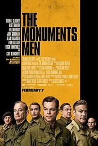 poster Film - Eroii Monumentelor - The Monuments Men (2014)