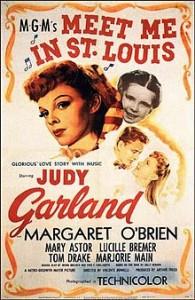poster Film - Ne vedem in St. Louis - Meet Me in St Louis (1944)