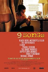 poster Film - 9 piese - 9 Songs (2004)