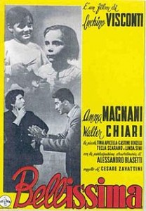 poster Film - Cea mai frumoasa - Bellissima (1951)
