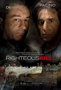 poster Film - Crime justificate - Righteous Kill (2008)