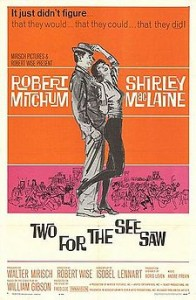 poster Film - Doi pe un balansoar - Two for the Seesaw (1962)