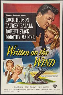 poster Written on The Wind
