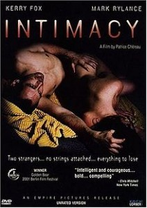 poster Film - Intimitate - Intimacy (2001)