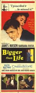 poster Film - Mai presus decat Viata - Bigger Than Life (1956)