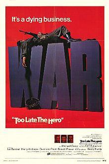poster Film - Prea tarziu pentru eroi - Too Late the Hero (1970)