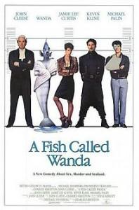 poster Film - Un pestisor pe nume Wanda - A Fish Called Wanda (1988)