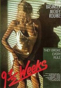 poster Film - 9 Saptamani si jumatate - Nine 1,2 Weeks (1986)