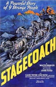poster Film - Diligenta - Stagecoach (1939)