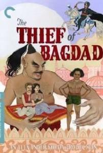 poster Film - Hotul din Bagdad - The Thief of Bagdad (1940)