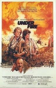poster Film - In prima linie - Under Fire (1983)