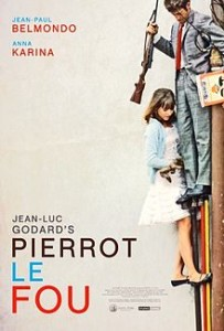poster Film - Pierrot nebunu - Pierrot le Fou (1965)