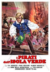 poster Film - Piratii din insula verde - Los corsarios aka I pirati dell'isola verde (1971)