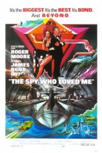 poster Film - Spionul care m-a iubit - The Spy Who Loved Me (1977)