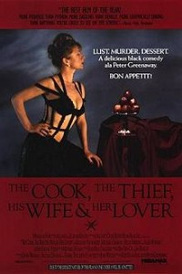 poster Film - The Cook, the Thief, His Wife & Her Lover (1989)