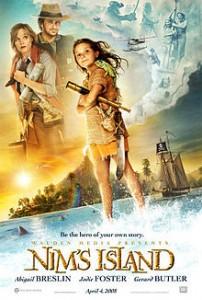 poster Film - Insula din vis - Nim's Island (2008)