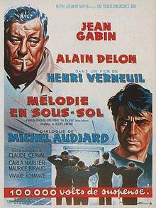 poster Film - Melodie in subsol - Mélodie en sous-sol (1963)