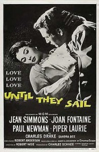 poster Film - Până ridicăm ancora - Until They Sail (1957)