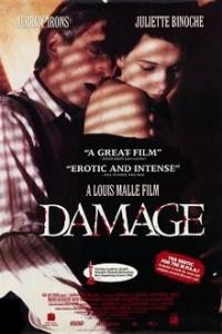 poster Film - Pasiune fatala - Damage (1992)