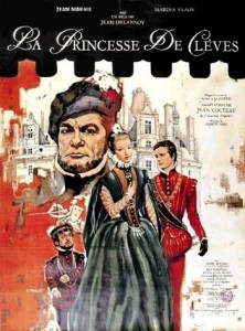 poster Film - Printesa de Cleves - La Princesse de Cleves (1961)