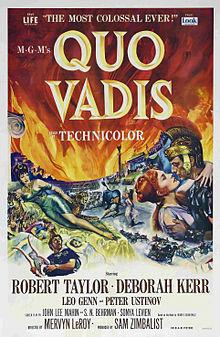 poster Film - Quo Vadis (1951) - subtitrat