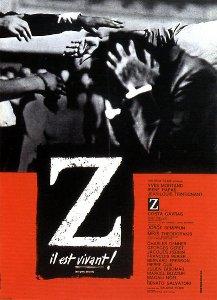 poster Film - Z (1969)
