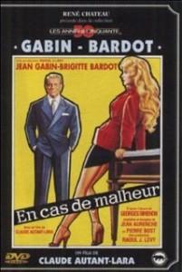 poster film En cas de malheur (1958)