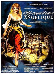 poster Merveilleuse Angelique (1965)