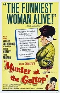 poster Murder At The Gallop (1963)