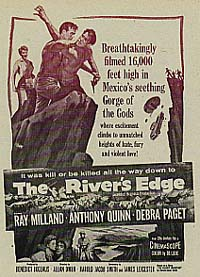 poster The River's Edge (1957)