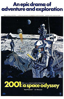 poster 2001 A Space Odyssey (1968)