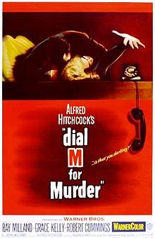 poster Dial M for Murder (1954)