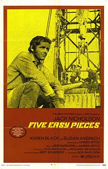 poster Five Easy Pieces (1970)