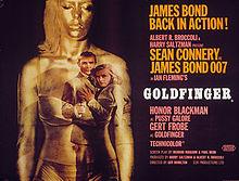 poster Goldfinger (1964)