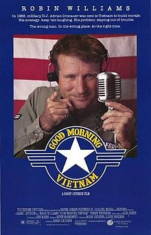 poster Good Morning Vietnam (1987)