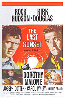 poster The Last Sunset (1961)